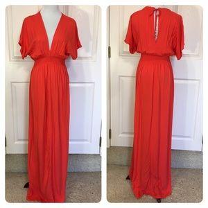 Michael Michael Kors red maxi dress